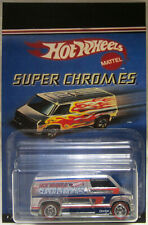 Hot Wheels CUSTOM '77 DODGE VAN Super Chromes Real Riders Limited Edition!