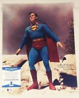 "KIRK ALYN ""SUPERMAN"" SIGNED 11X14 PHOTO SUPERMAN BAS COA 821"