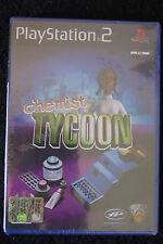 PS2 : CHEMIST TYCOON - Nuovo, risigillato ! Da Phoenix Games !