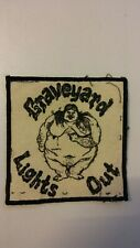 USED Graveyard lights out vintage metal rock patch band artist music