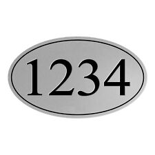 Personalized House Address Sign Plaque Aluminum Won't Fade, Peel or Chip HP011D