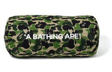 A BATHING APE BAPE ABC CAMO CUSHION CYLINDER PILLOW