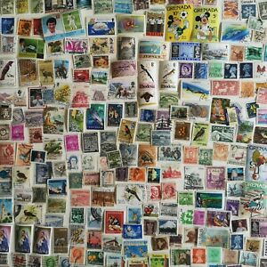 1000 Different British Commonwealth/Empire all periods + GB Stamp Collection