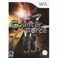 Counter Force Nintendo Wii Game >Brand New - In Stock - Fast Ship<