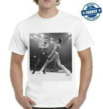 Tee-shirt  Muhammad Ali Vs Tyson Boxeur legend  sport combat
