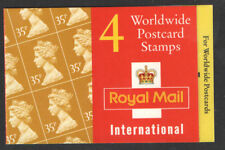 Gb Qeii Barcode Stamp Booklet Gk6 4 x 35p 1995 Sg Y1778 Walsall