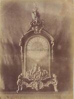 Garde Meuble Louis XVI France Vintage Albumine ca 1880
