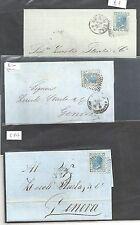 ITALIA 1867-77 20 C BLU vasta collezione - 2364