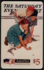'The Children of Norman Rockwell': 'Marbles Champion' Girl Wins Phone Card