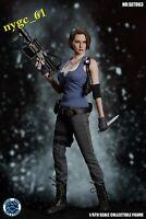 SUPER DUCK 1/6 Resident Evil Female Policeman Head & Suit fit 12'' Phicen Figure