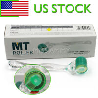 New Microneedle 192 Titanium Needle Derma Roller Acne Skin Hair Loss Wrinkles