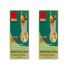 2box Triplex Super IMCO 6700 Vintage Lighter Painting,RandomColor 24EA Bulk LOT