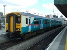 PHOTO  CLASS 150 SPRINTER 2-CAR DMU NO 150 217  AT CARDIFF CENTRAL  OF ARRIVA TR