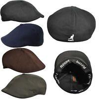 Kangol WOOL Blend Flexfit 504 K0873CO  Ivy Cap Hat BLACK S/M or L/XL S M L XL