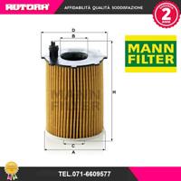 HU7162X Filtro olio Citroen-Ford-Peugeot (MARCA-MANN)