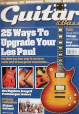 Guitar & Bass Magazine March 2015 Volume 26 No 6 - Upgrade Your Les Paul