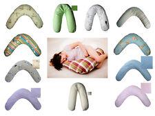 Baby Stillkissen Seitenschläferkissen Lagerungskissen 190 cm 11 Farben XXL