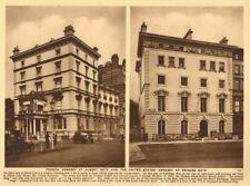 French Embassy Albert Gate.US Ambassador's residence 14 Princes Gate 1926