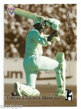 1994 Futera Great Cricket Memories (GCM2) Clive LLOYD # 0060