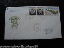 TAAF carta 8/1/92 - sello Yvert y Tellier nº163 166 (cy6)