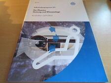 VW SSP Selbststudienprogramm Nr. 271 Der Phaeton ab´02 Heizung und Klimaanlage
