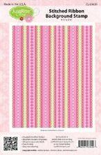 JUSTRITE - Stitched Ribbon Background Stamp