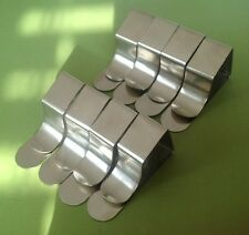 8 British Quality Steel Table Cloth Clips Free Royal Mail Post