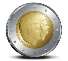 IN STOCK The NETHERLANDS 2 EURO 2014 - Double Portrait / Farewell of Queen - UNC