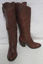 Women's Matisse 'Quaid' Whiskey Leather Mid-Calf Fashion Boots Sz 8 M