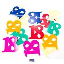 Tischkonfetti XL - Zahl 18
