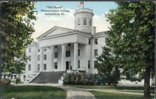 Old Dorm, Pennsylvania College, Gettysburg, PA  - written 1913