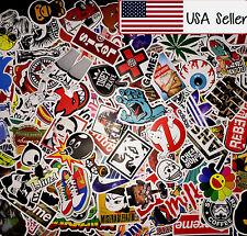 100 Random Skateboard Stickers bomb Vinyl Laptop Luggage Decals Dope Sticker Lot