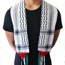 Palestine Arabian Scarf Shemagh Palestine Scarf Wrap Tactical Shawl Keffiyeh