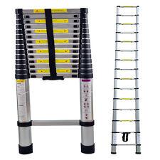 Teleskopleiter 4,4m Klappleiter Stehleiter Anlegeleiter Mehrzweckleiter Alu