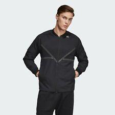 Adidas Originals PT3 Chándal Top Negro Sólido Cremallera Completa Active Ropa