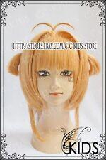 TSUBASA Cardcaptor Sakura Kinomoto Sakura Cosplay wig costume TV VER