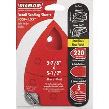 Diablo 5Pk 220G Mouse Sanding