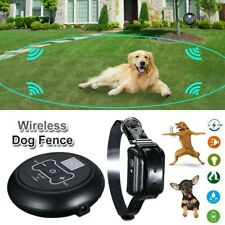 Wireless Electric Dog Fence Containment System Shock Collars For 1 Dog Us
