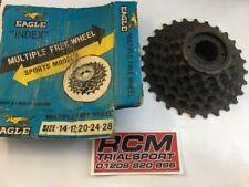 Vintage EAGLE 6 Speed Bicycle REAR GEAR SET FREEWHEEL MTB HYBRID 14.17.20.24.28
