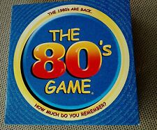 The 80's Game Adult Party 1980s Trivia Board Game 2001 Intellinitiative
