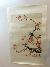 BEAUTIFUL SIGNED CHINESE HAND PAINTED LANDSCAPE PAINTING ON SILK
