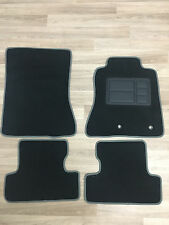 Car Floor Mats Custom Made Front & Rear w/Grey Edging - Ford Mustang: 2015-ON