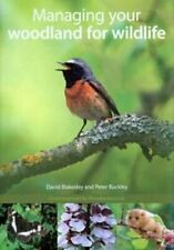 Managing Your Woodland for Wildlife by David Blakesley 9781874357759 | Brand New