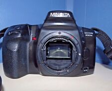 Minolta Maxxum 400si 35mm SLR Film Camera Body Only w strap Tested Works Great