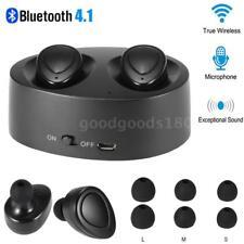 Mini TWS Senza fili Cuffia Bluetooth 4.1 Sport Stereo In-Ear Auricolare con Mic
