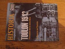 $$$ Revue Historia 2e Guerre Mondiale N°45 Toulon 1942Guerre en Tunisie