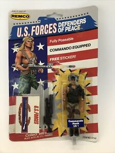 Vintage Remco U.S. Forces Defenders Of Peace Commando Hank US1 Action Figure