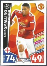 TOPPS MATCH CHAMPIONS LEAGUE 2017-18- #149-MANCHESTER UNITED-CHRIS SMALLING