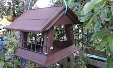 SLOPING SIDES,LARGE BIRD PROOF HANGING BIRD TABLE.