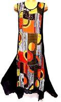 plus sz XS / 14 TS TAKING SHAPE Carousel Dress sexy sheer easy-care NWT rp$130!